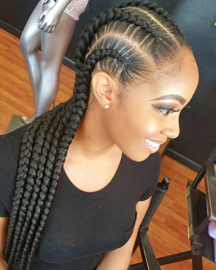 Pin by fatoumata camara on Braids | Pinterest | Protective hairstyles