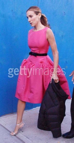 Carrie Bradshaw Oscar de la renta the dress that is