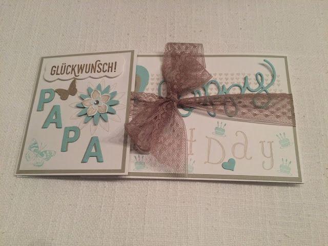Happy Birthday Papa ~ STEMPEL...und deine Ideen werden wahr...
