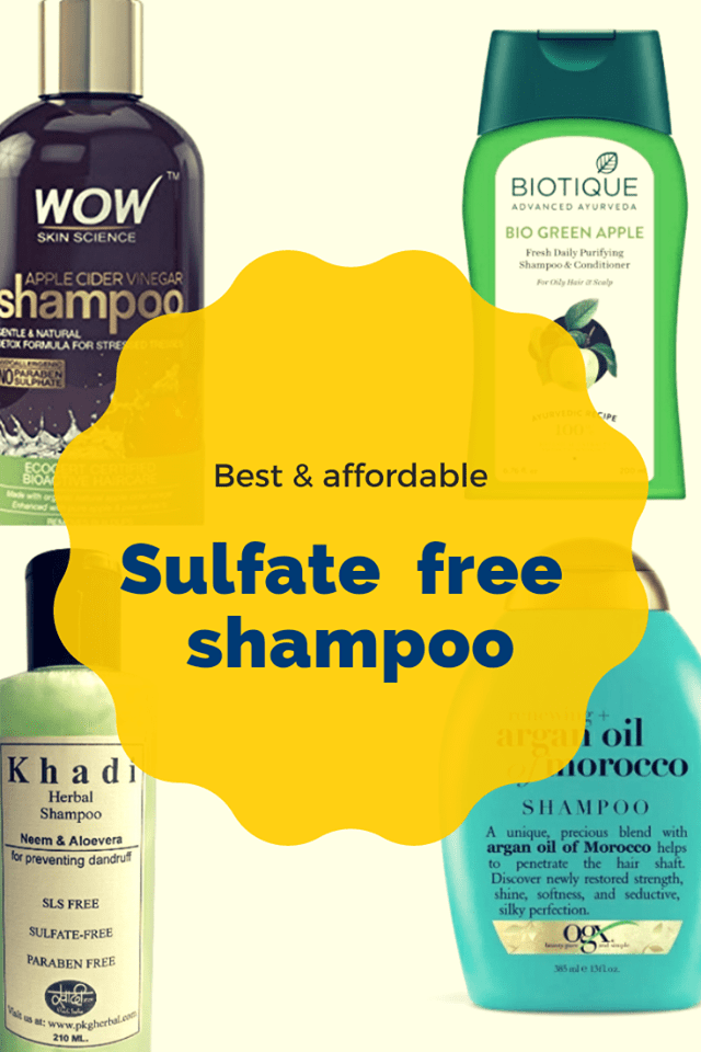 Check Out Some Of The Best And Affordable Sulfate Free Shampoos In India Shampoo Free Sulfate Free Shampoo Affordable Sulfate Free Shampoo