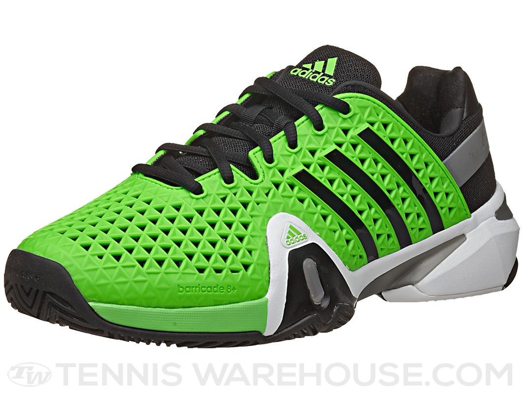 adidas Barricade 8+ Green/Black Men's Shoe