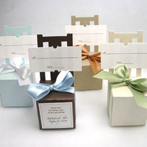 Sparkle Chair Favor Box Place Card Holder - 20 pcs - Favor Boxes - Favor Packaging - Wedding Favors & Party Supplies - Favors and Flowers