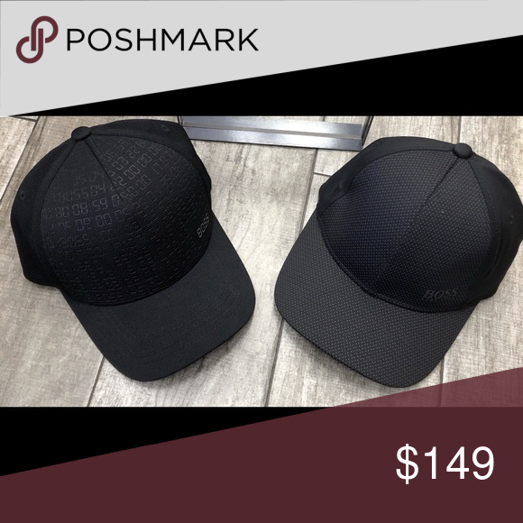 077a6a9320822 Hugo Boss Hat bundle Brand new. With tags. Never worn. Black on black