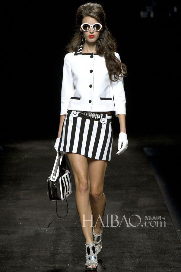 mini skirt  Moschino 2013 SS