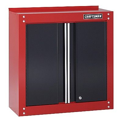 Craftsman 28 Wide Wall Cabinet Customize Your Garage With Sears Wall Cabinet Glass Cabinet Doors Cabinet