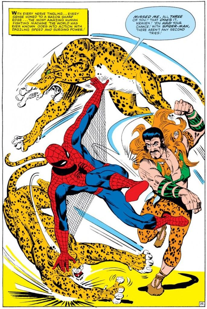 3e6e0c2a4 Spider-Man vs. Kraven the Hunter