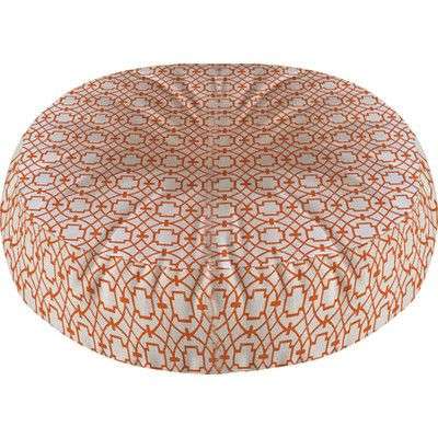 "Darby Home Co Blakemore Umbria Round Floor Pillow Size: 23"" H x 23"" W x 6"" D"