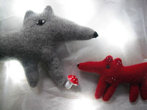 :-) Mary Stanley's Wolf and fox
