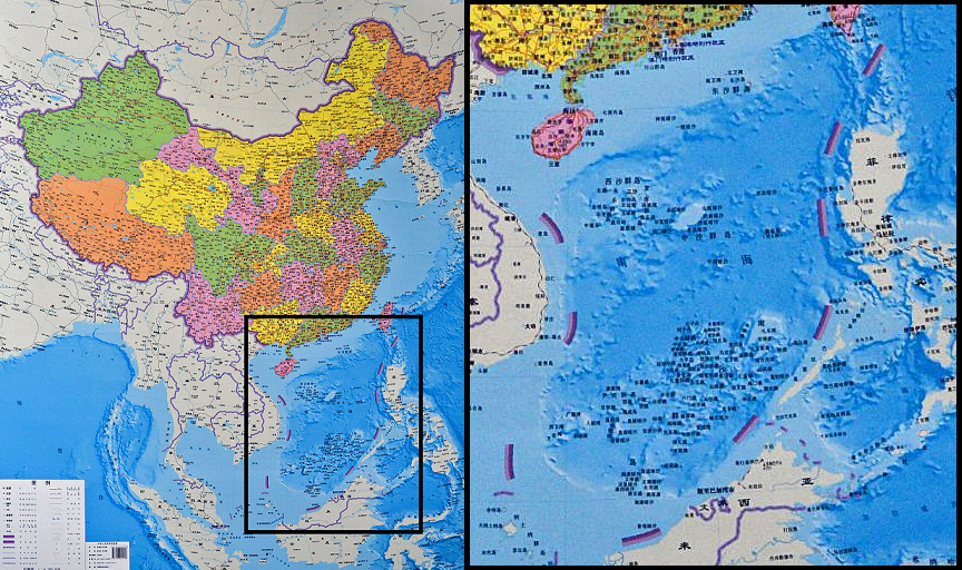 There is only 1 shenzhen river so why does google maps show 2 mapof south china sea territorial claims gumiabroncs Image collections