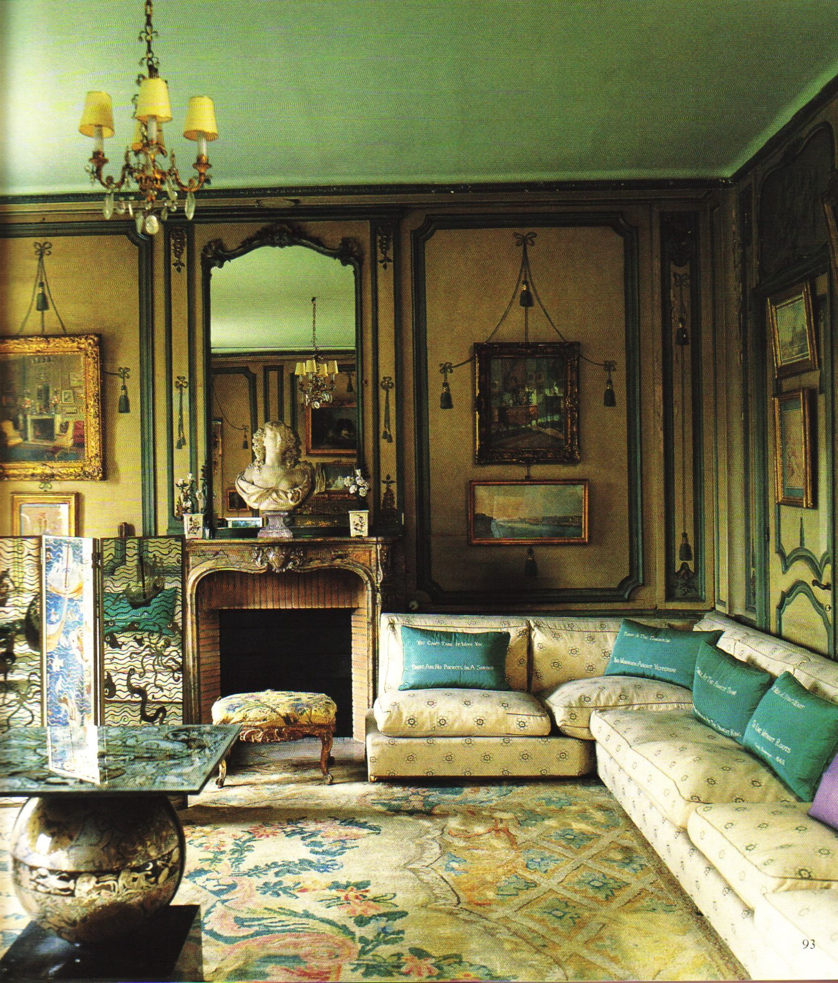 Elsie de Wolfe did at Villa Trianon - #art #installation #decoration ...
