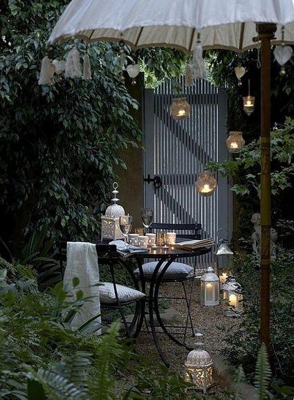 Ideas para patios pequeños Patios, Gardens and Porch
