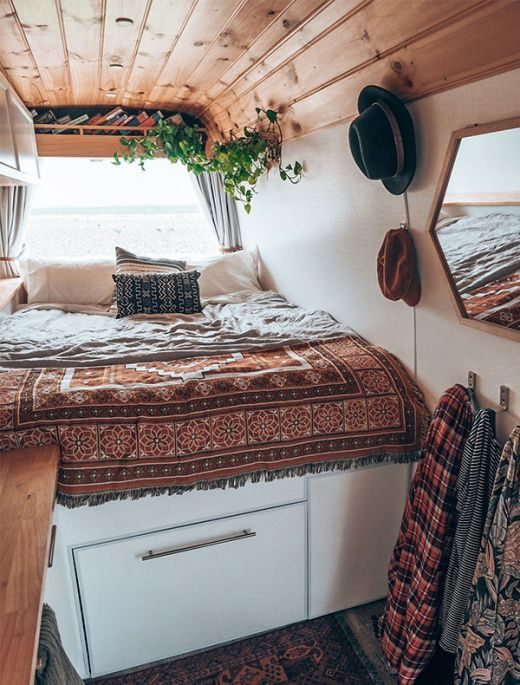 Living the Vanife! Aussies Embracing Tiny, Mobile Homes - The Design Files | Australia's most popular design blog.