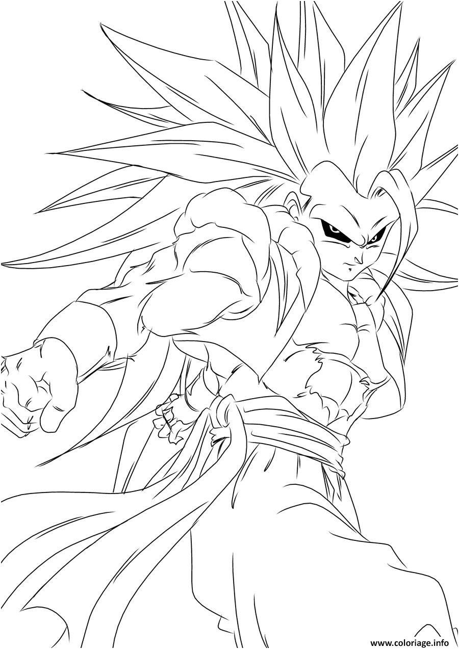 9 Exotique Coloriage Dragon Ball Z A Imprimer Collection