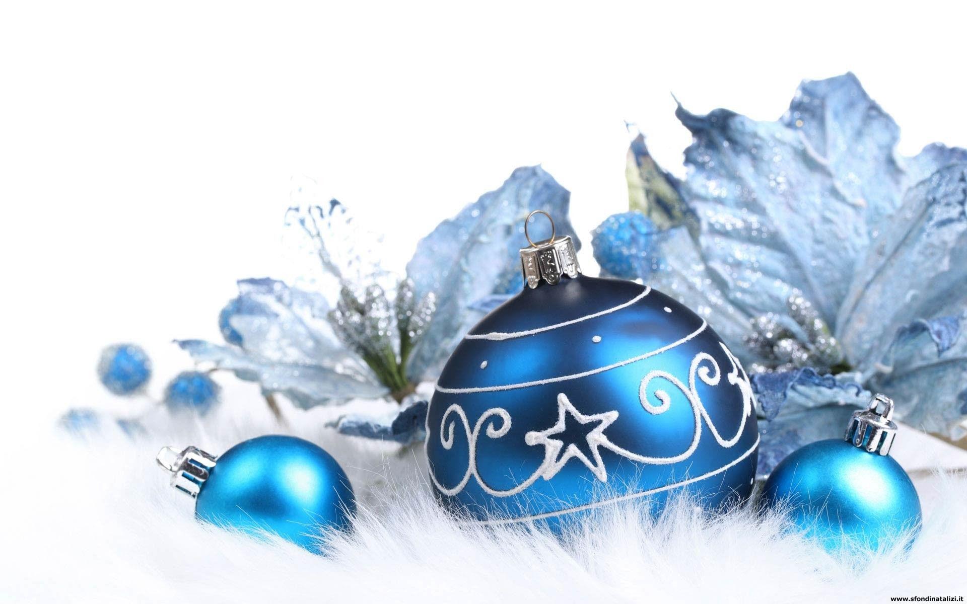 Sfondo Natalizio Sfondo Desktop Palle Natale Decorazioni Di