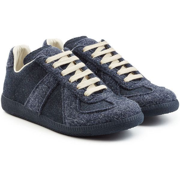 Replica Felted Sneakers Maison Martin Margiela