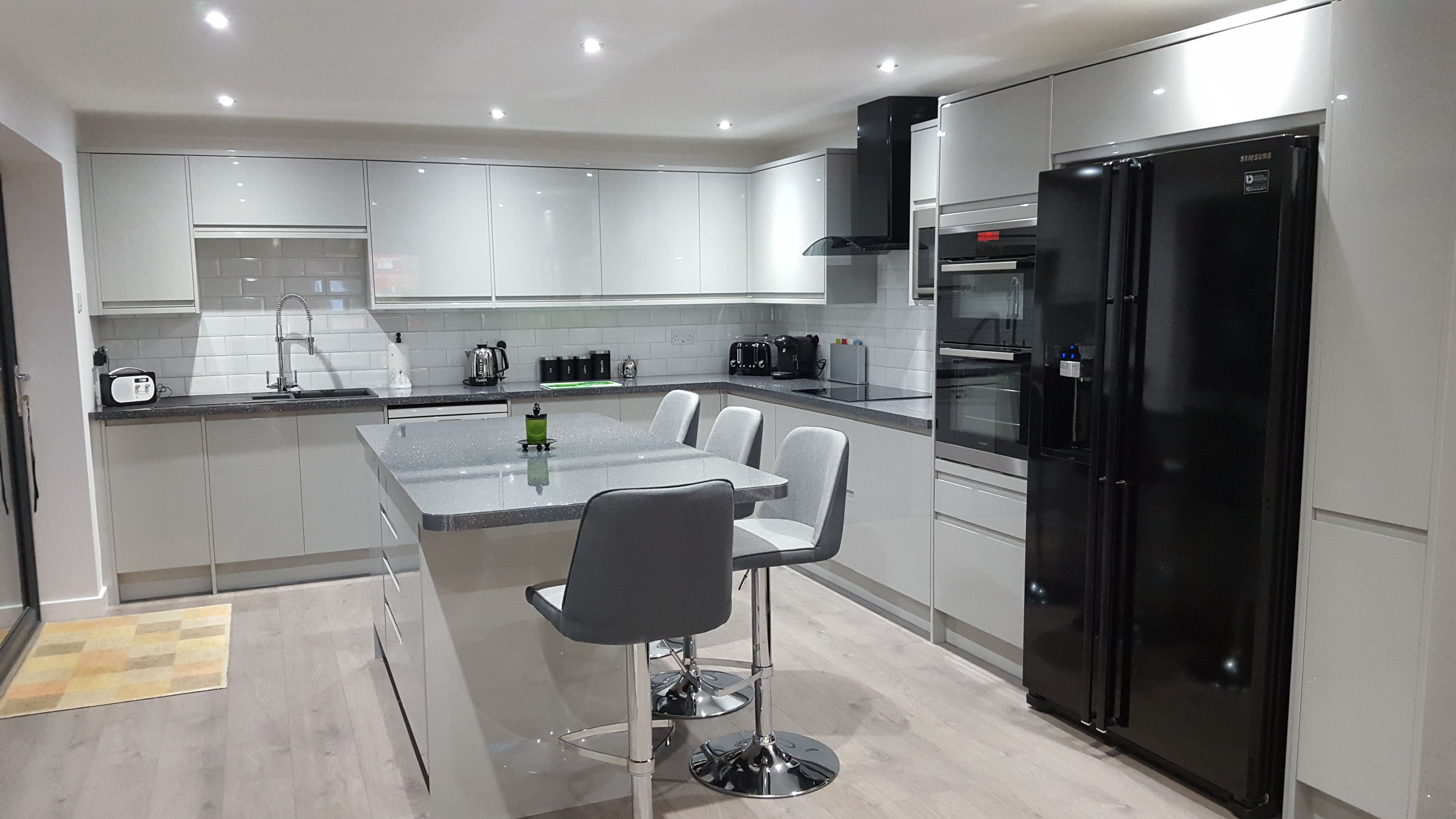 A Lovely Example Of A Clerkenwell Gloss Grey Kitchen Designed By Our Totton  Depot. Find