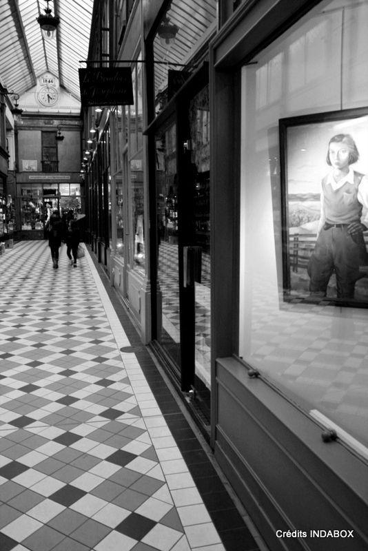 Paris - passage couvert