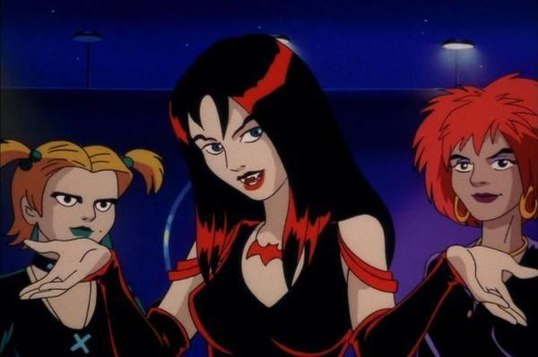 "The Hex Girls, also from ""Scooby-Doo and the Witch's Ghost""."
