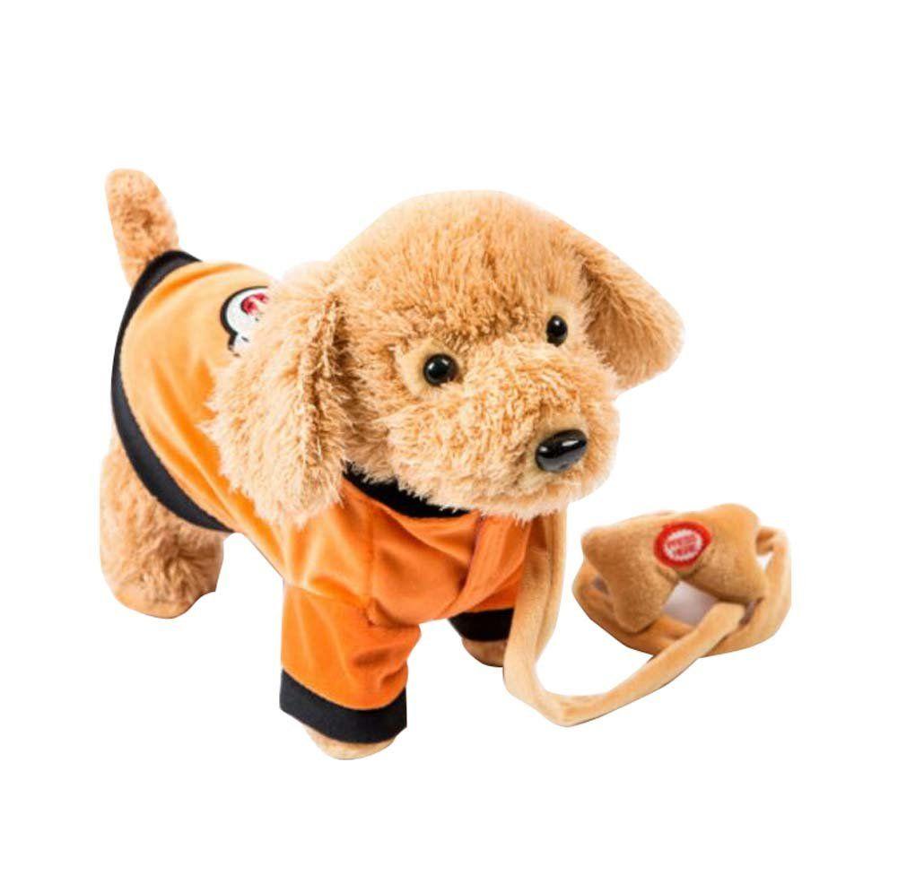 Electronic Plush Toy Dog Remote Control Machinery Petorange
