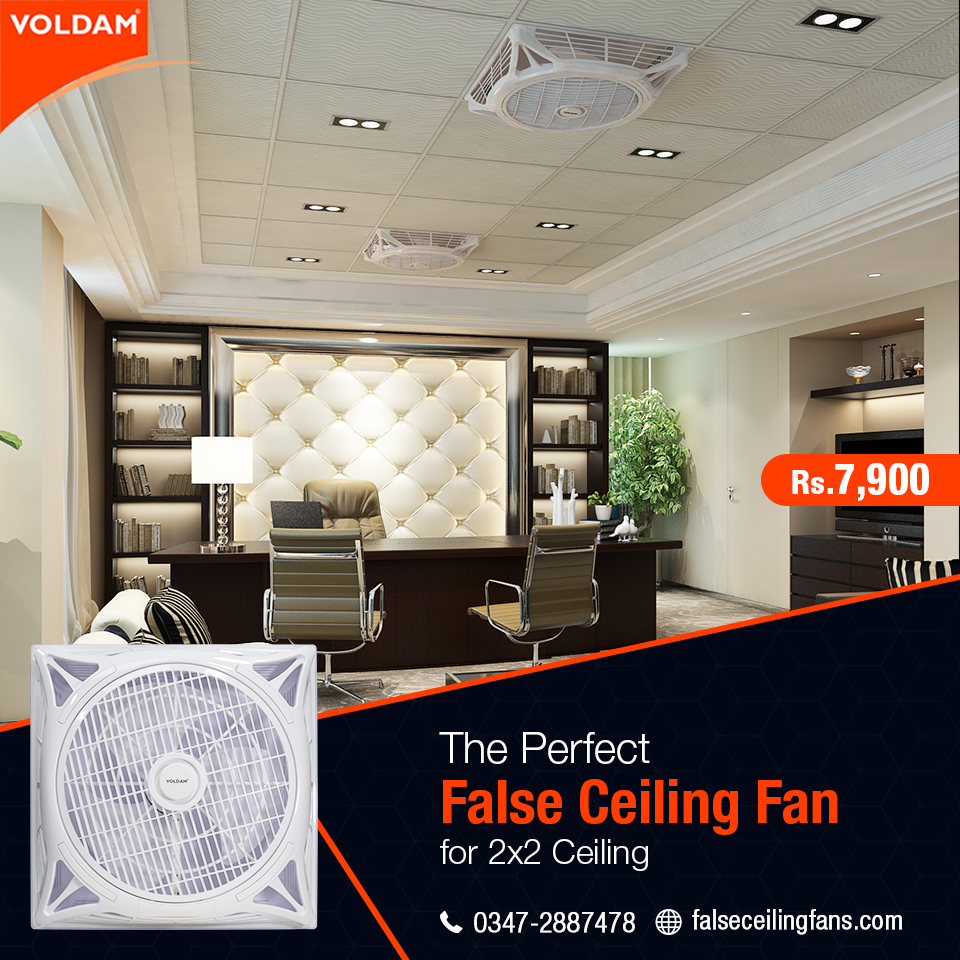 Pin On Voldam Brand False Ceiling Fan
