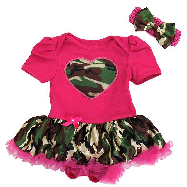 Baby Girl Camo Clothes Inspiration 2 Piece Hot Pink Camo Coming Home Baby Onesie Tutu Http Review