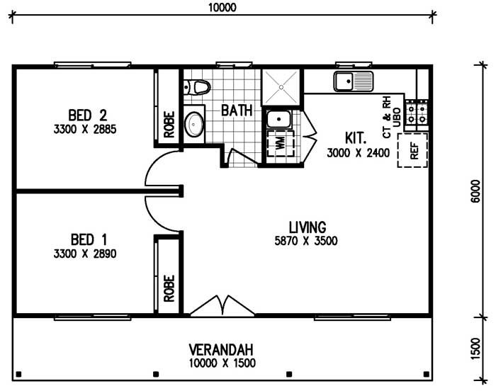 2 Bedroom Granny Flat Designs Google Search Garage Conversion Granny Flat Granny Flat Plans Small House Floor Plans