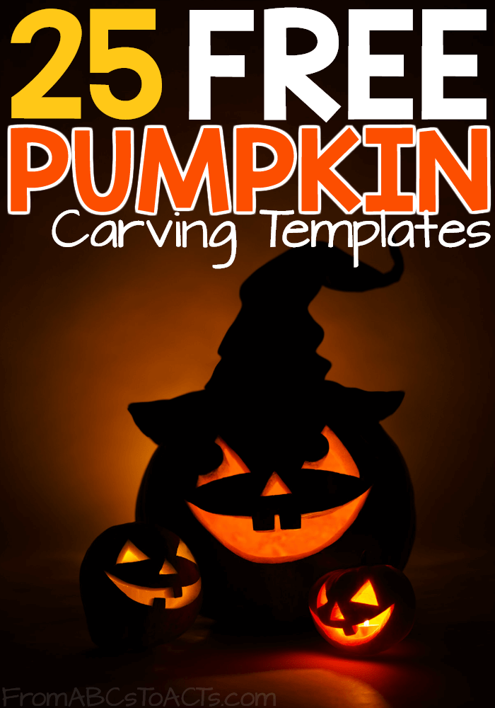 Jack o\' Lanterns Made Easy: 25 Free Pumpkin Carving Templates