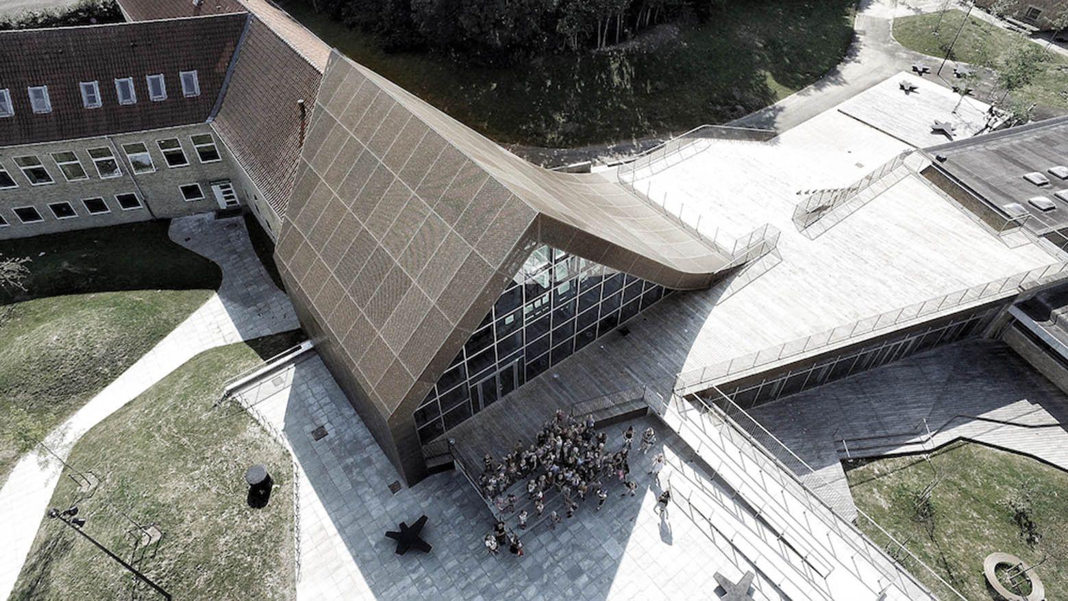 Mariehøj Cultural Centre Architects: Sophus Søbye Arkitekter, WE Architecture Location: Holte, Denmark