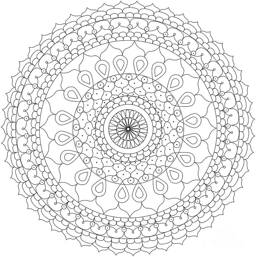 heart mandala coloring pages for adults mandala pdf new