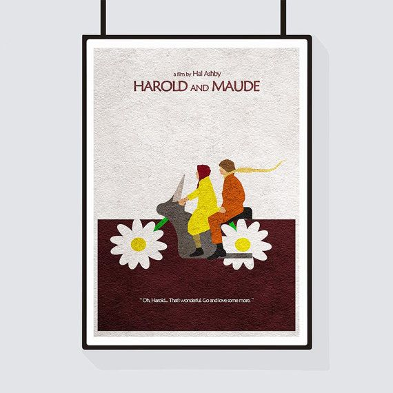 Harold And Maude Minimalist Alternative Movie By