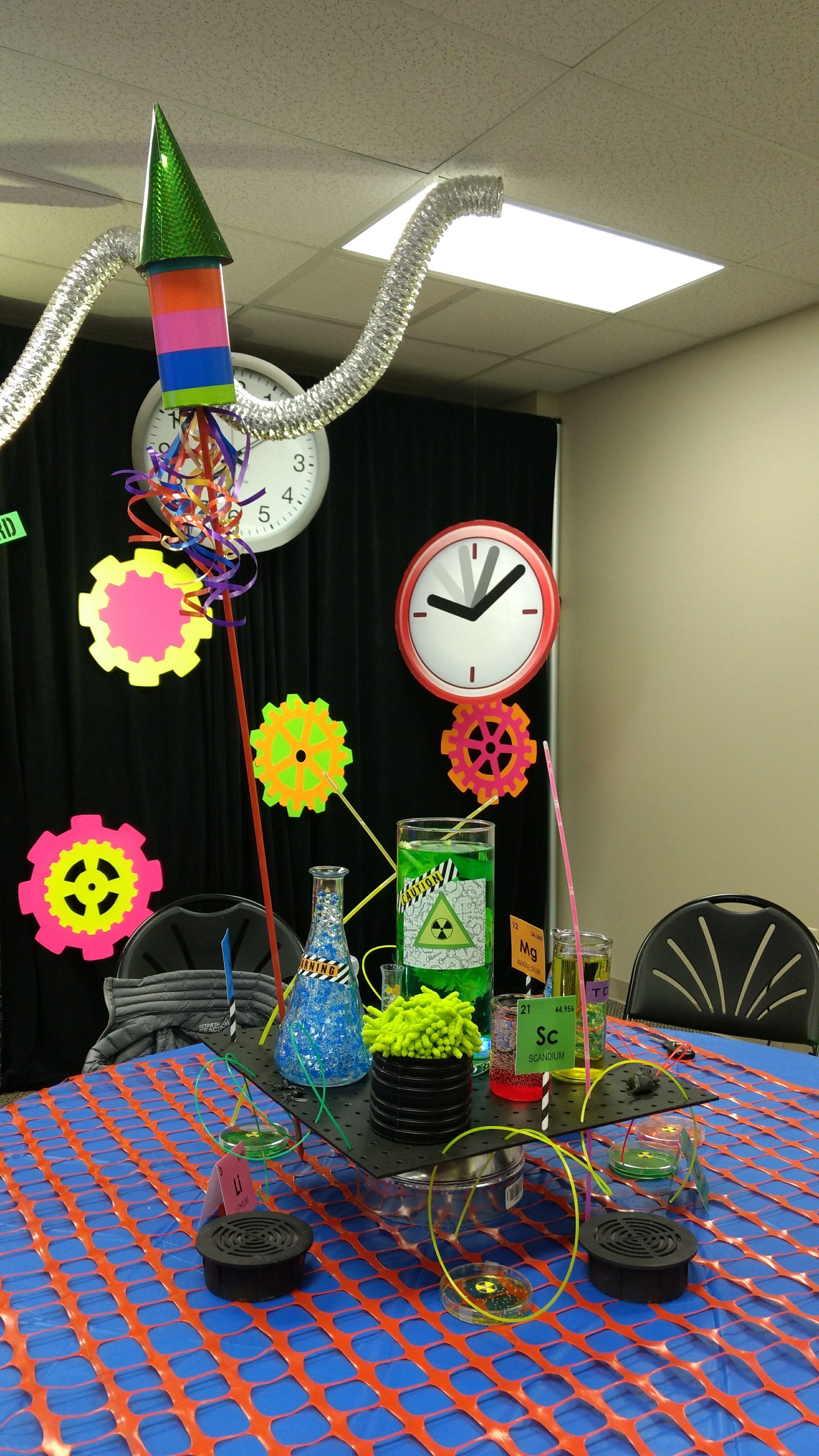 Simple Halloween Classroom Decorations ~ Time lab decoration ideas answersvbs vbs timelab
