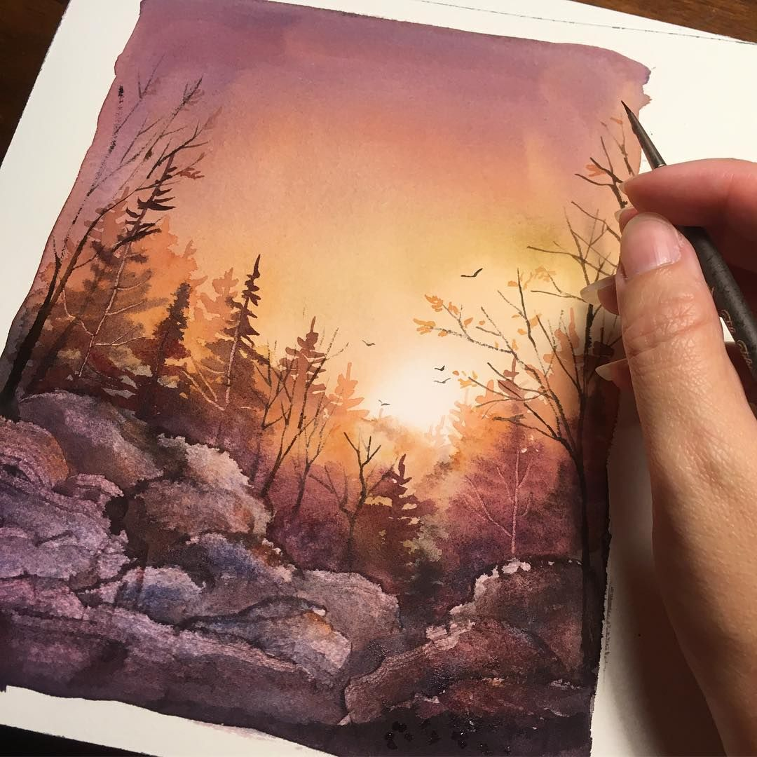 In Case You Need Some Light Watercolor In 2019 Watercolor