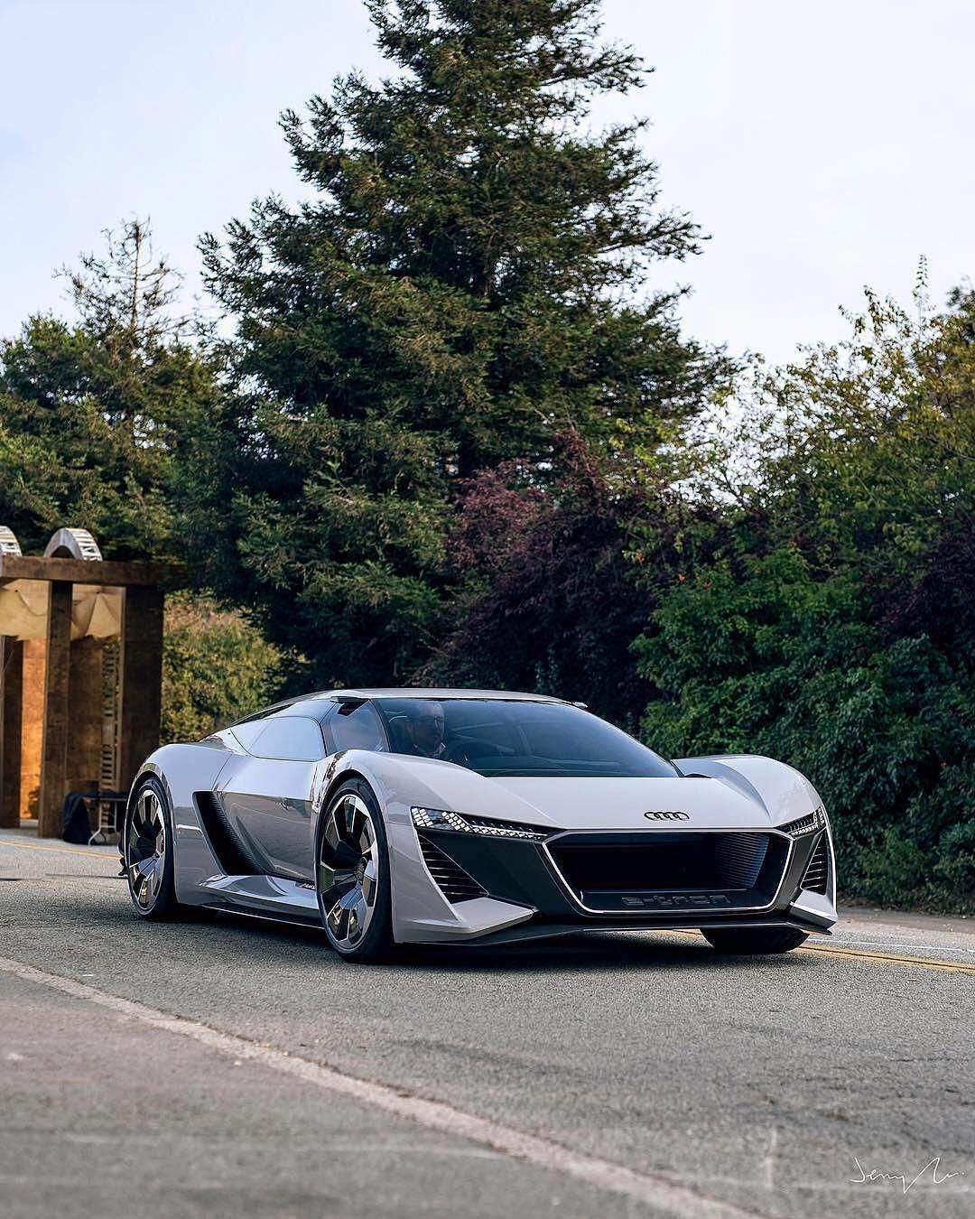 Security Check Required Audi PB18 E-Tron   Photo by @jgucars  