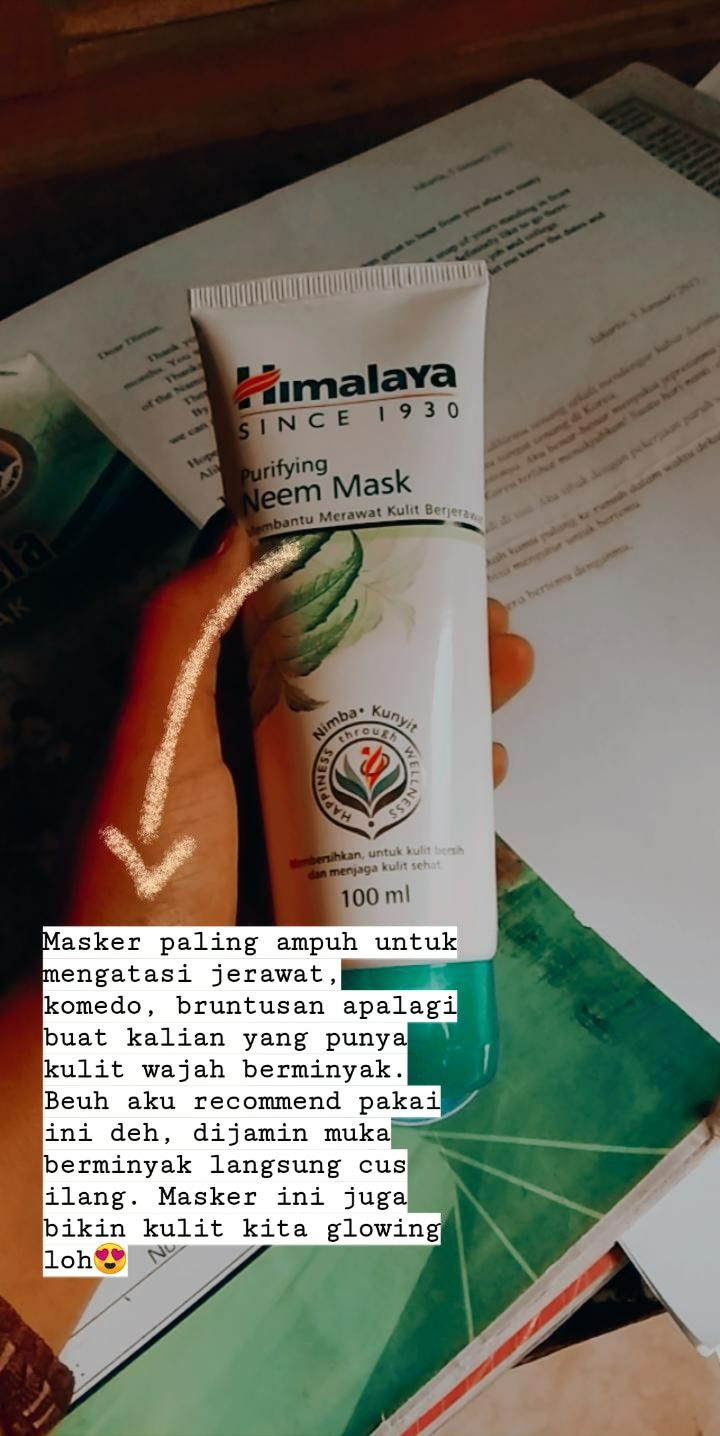 Masker Untuk Wajah Berminyak Berjerawat Dan Berkomedo