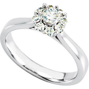 14K Yellow Gold 1/3 Ct Tw Engagement Ring Engagement Ring  #178424 - IceCarats