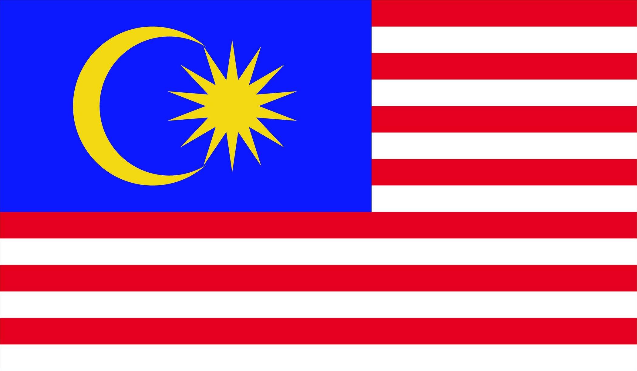 Malaysia Flag Malaysian Download Vector
