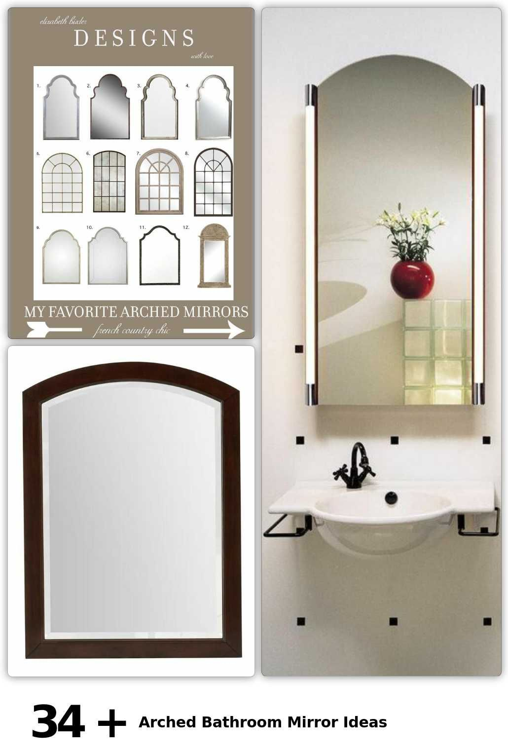 34 Arched Bathroom Mirror Ideas In 2020