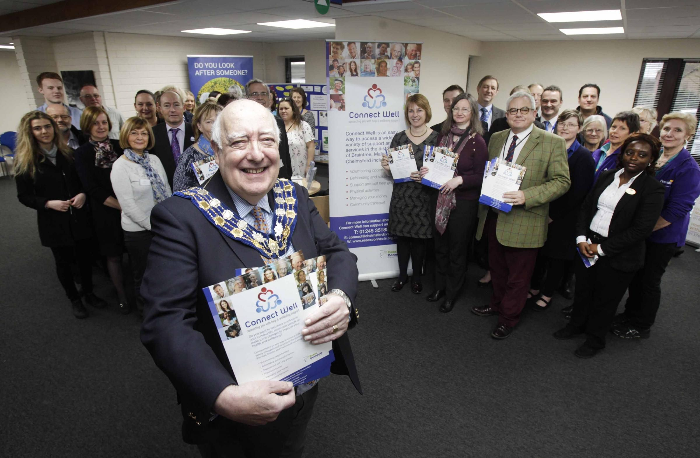 A NEW project has been launched to help people improve their health and wellbeing and get more involved in their community.