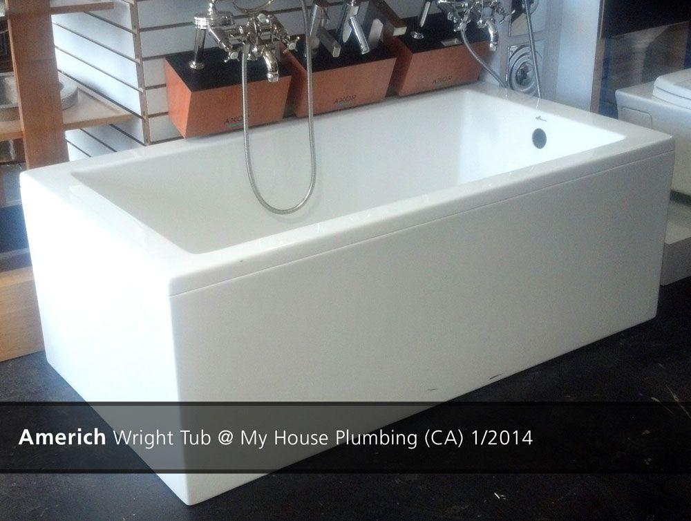 Americh Wright Tub My House Plumbing Ca 1 2014 Tub Bathtub