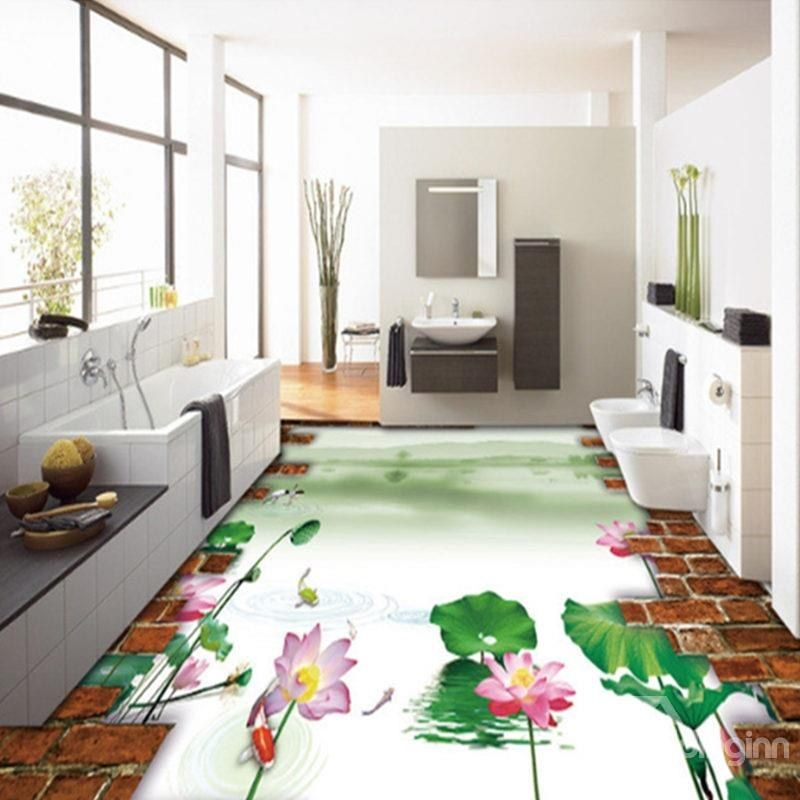 Blue Sky Bathroom Tile Floor Decoration Audidatlevantecom
