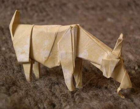 Origami Goat January Pinterest Goats And Origami