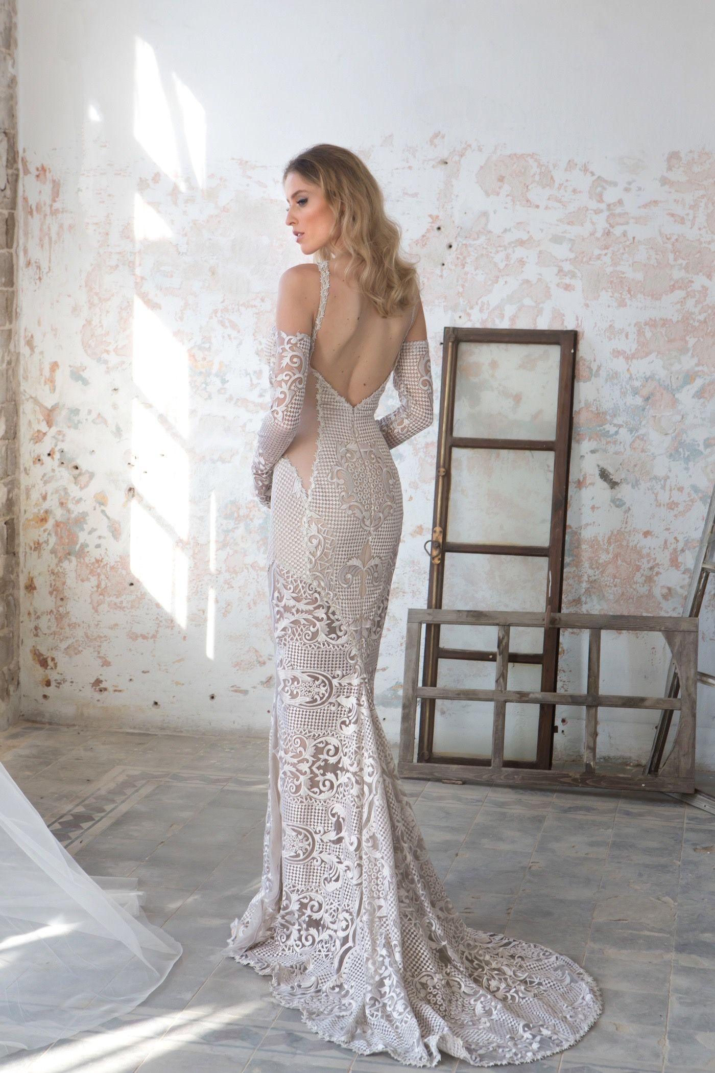Open back wedding dresses lace  Pin by Benyapa Steinmetz on White lace  Pinterest  White lace
