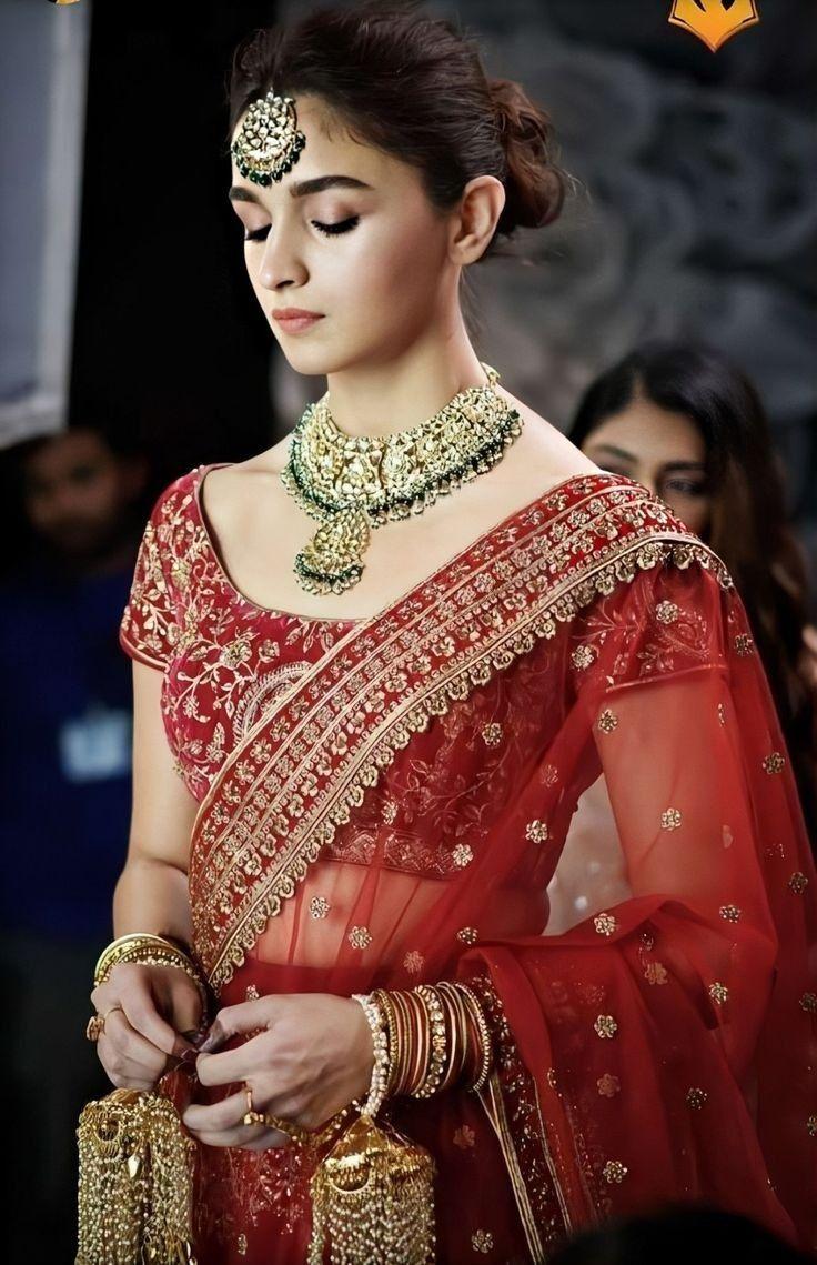 Alia Bhat in Sabyasachi clothing   Sabyasachi dresses