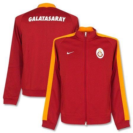 Chaqueta N98 Auténtica del Galatasaray 2014-2015 - Rojo Naranja ... adab1ccca5b61