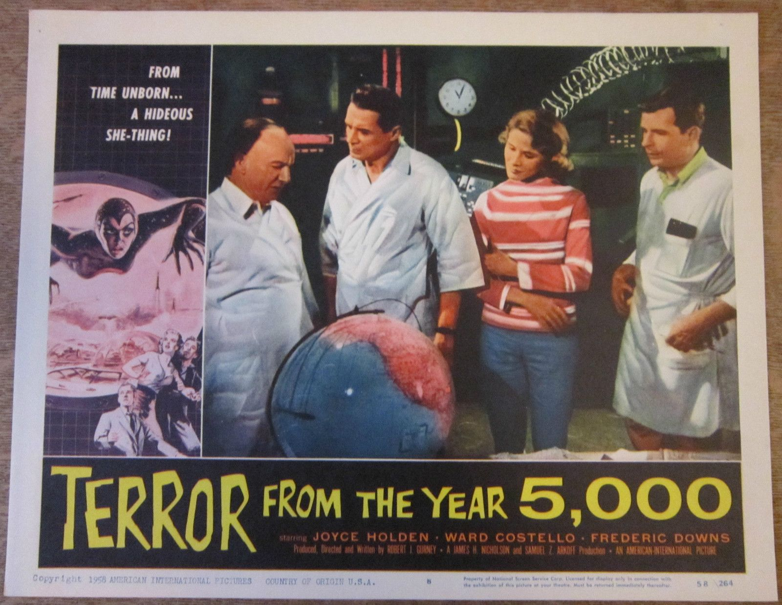 Terror from The Year 5,000 Movie Poster