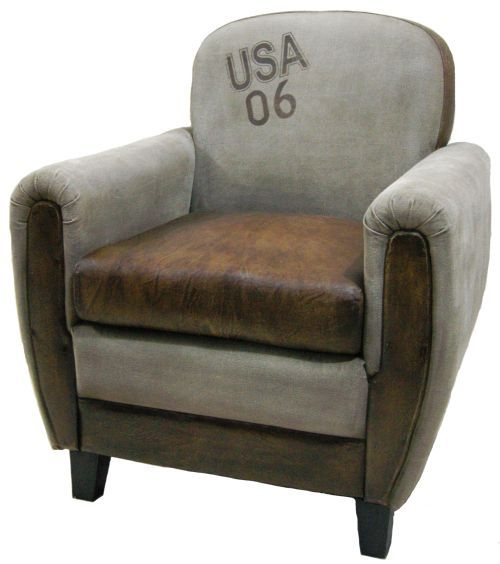 Canvas/leather Arm Chair | Lounge | Pinterest | Bucket chairs, Tub ...
