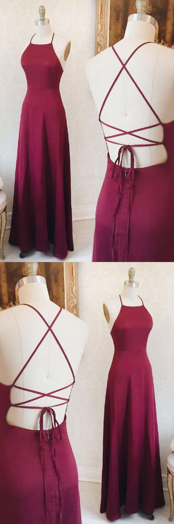 Simple prom dresses burgundy prom dresses prom dresses long