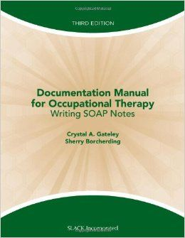 Sample Occupational Therapy Soap Note  Google Search  Therapy