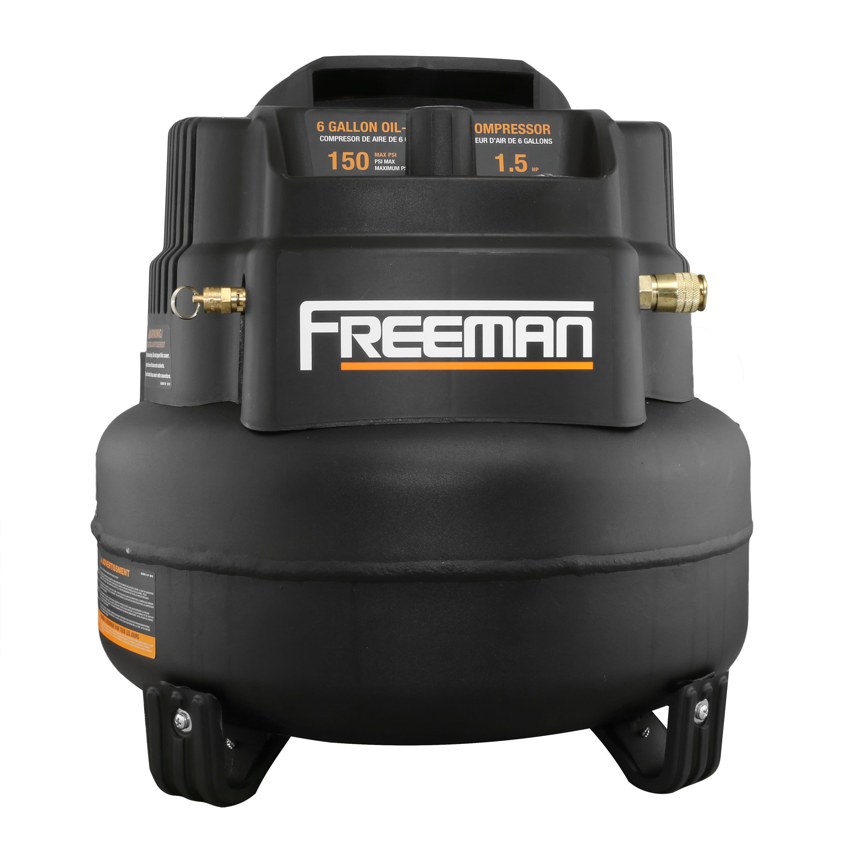 Freeman 5Piece Nailer Kit w/6 Gallon Air Compressor