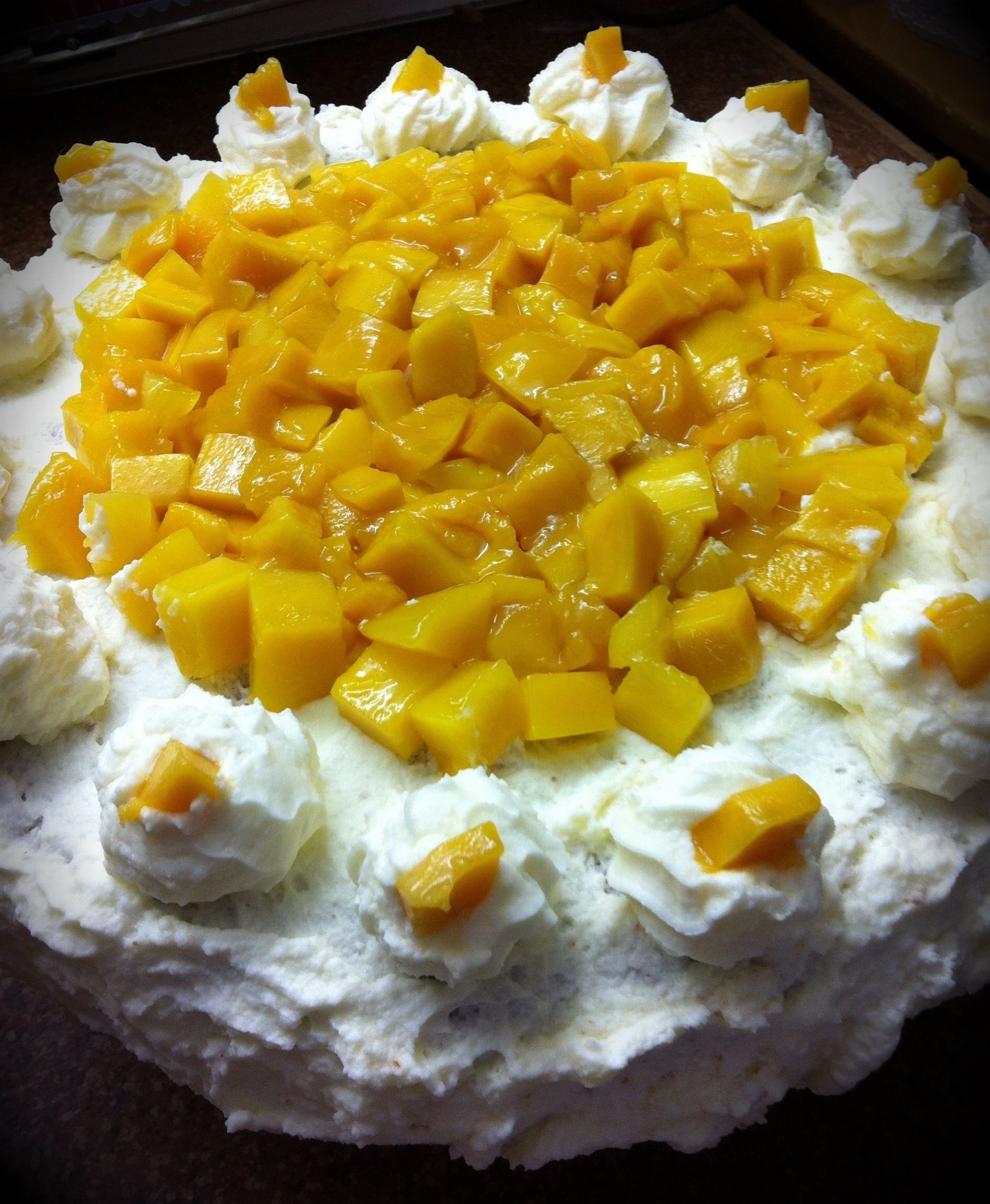 Mango Cake Ala Red Ribbon